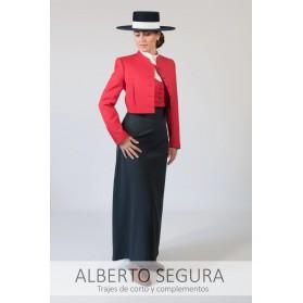Chaqueta Señora Sarga Roja