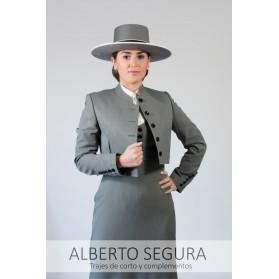Chaqueta Señora Alpaca Gris Marengo