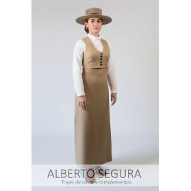 Falda Sarga Camel