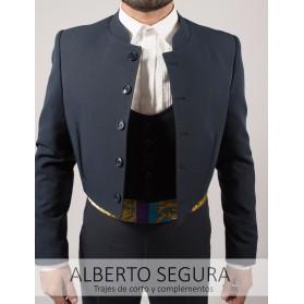 Chaqueta Sarga Bielástica Azul