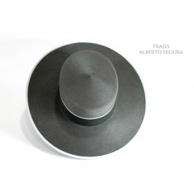 Sombrero Calidad Superior Gris Plomo