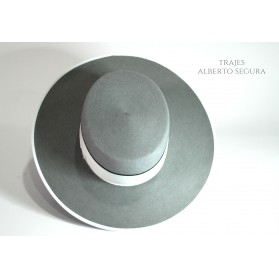 Sombrero Calidad Superior Gris Plata