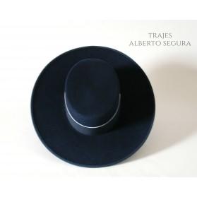 Sombrero Calidad Lana Azul