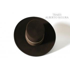 Sombrero Calidad Lana Marrón