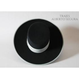 Sombrero Calidad Lana Gris Marengo