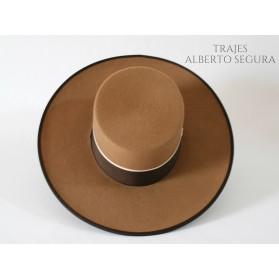 Sombrero Calidad Lana Camel
